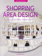 Shopping area Design, Designer Books Publishing capa