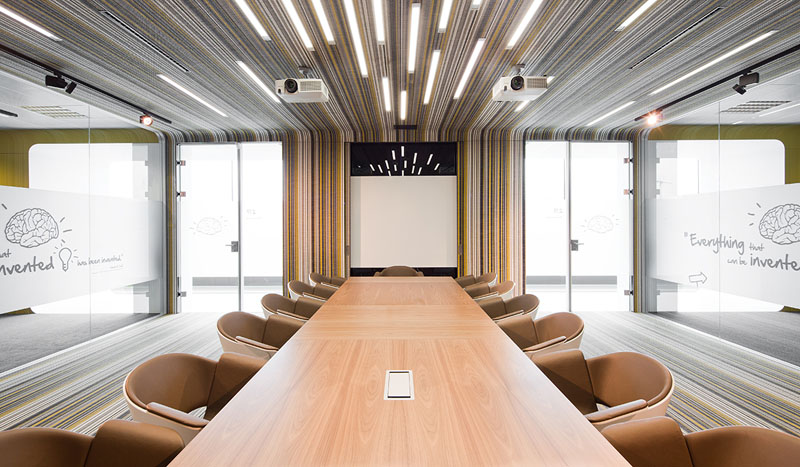 Fraunhofer Offices - View of meeting room