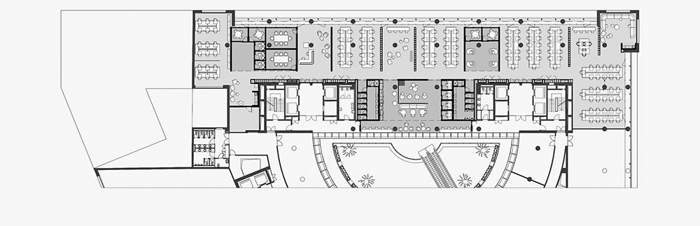 OLX Group Offices - Lower floor plan