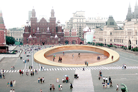 Red Square Tolerance Pavilion - Moscow, Russia